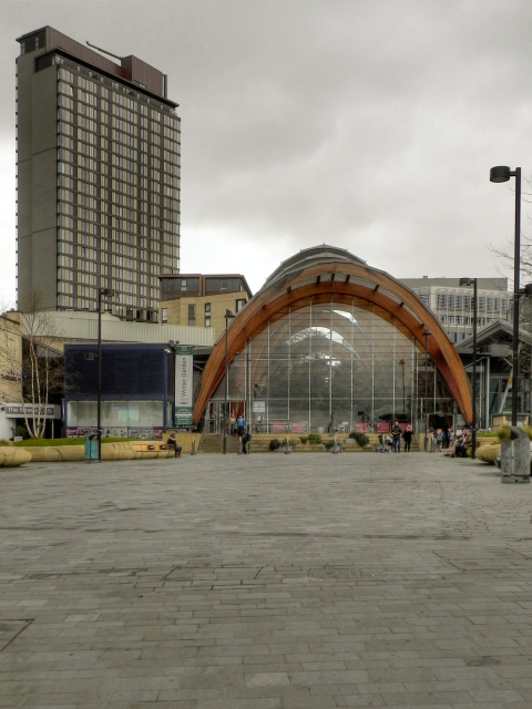 Tudor Square, The Winter Garden