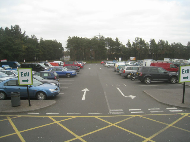 Fleet services - southside (west bound)