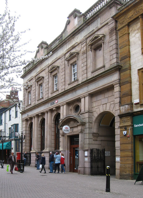 Kettering - HSBC Bank on Gold Street
