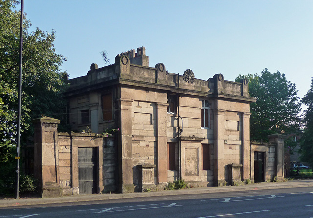 Former lodge, Edge Lane, Liverpool