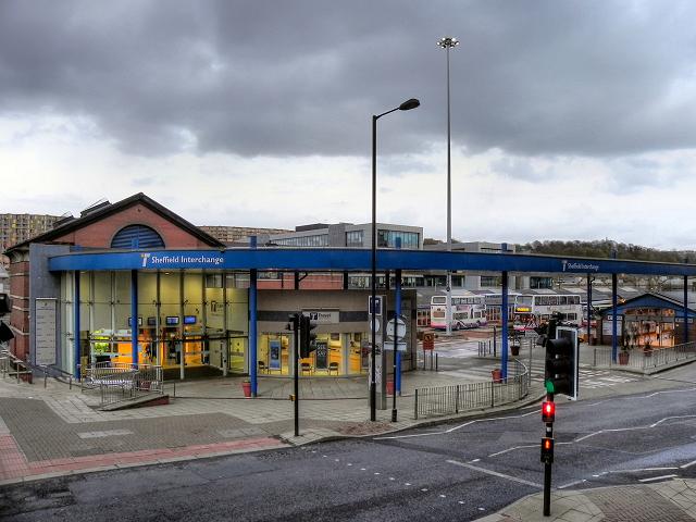 Sheffield interchange pond street bus 169 david dixon cc by sa 2 0