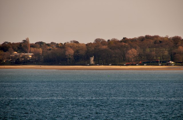 The Solent : Beach & Appley Tower