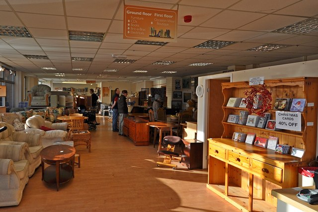 North devon hospice charity furniture roger a smith for Furniture charity shops
