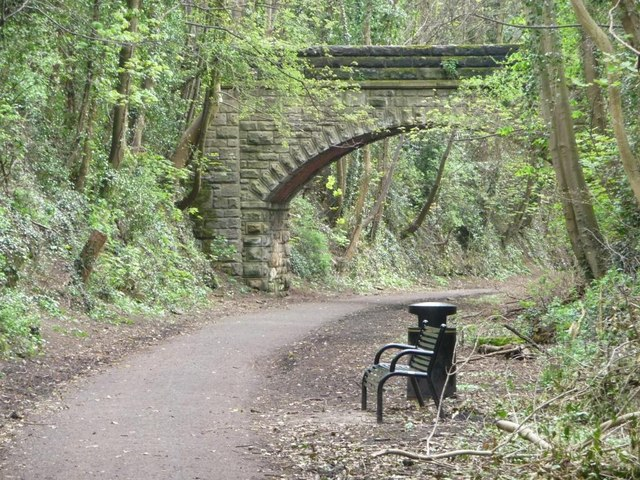 Anonymous bridge over the Harland Way