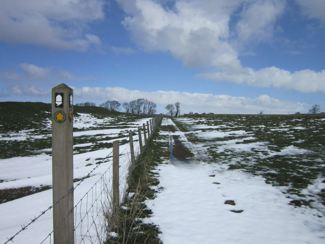 Heading towards Milecastle 31