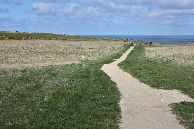 Path to Bempton cliffs