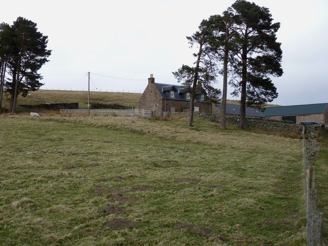 Glentennet farm house