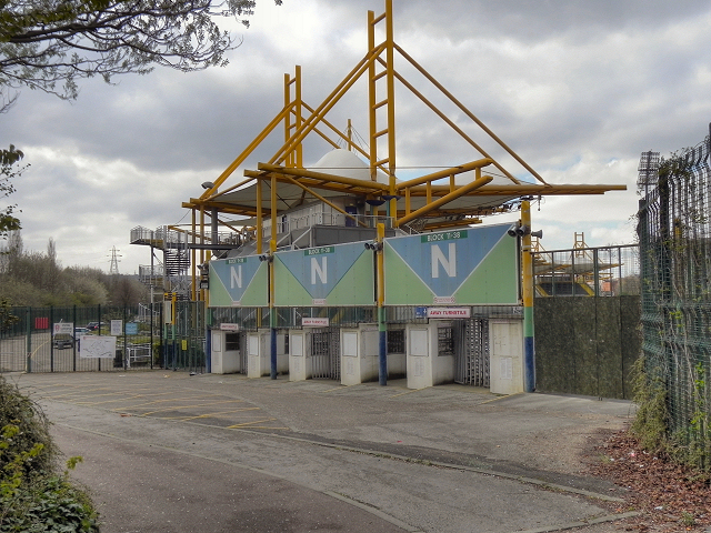 Don Valley Stadium, Away (Visitors') Turnstiles