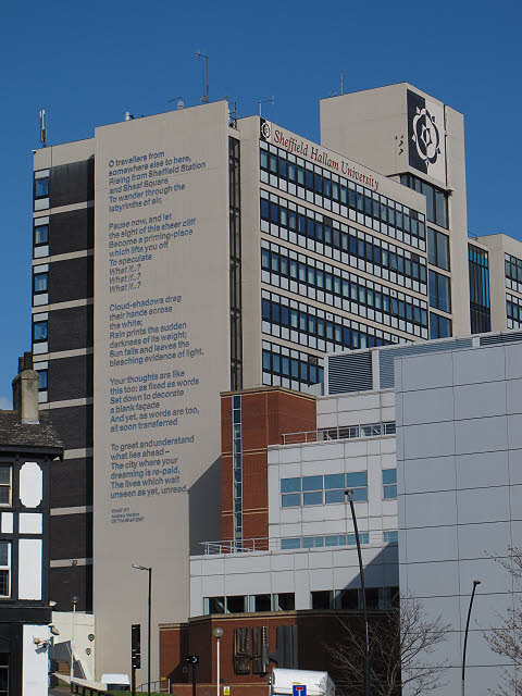 Sheffield Hallam University - poem