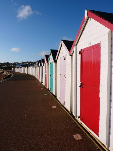 The Beach Hut with the Red Door