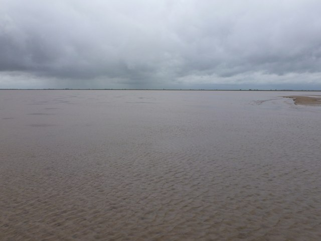 Low tide at Friskney Flats