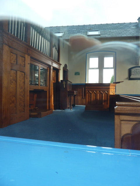 West Bradford Methodist Church, Interior