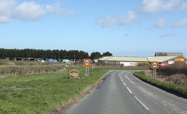 Entering Flamborough