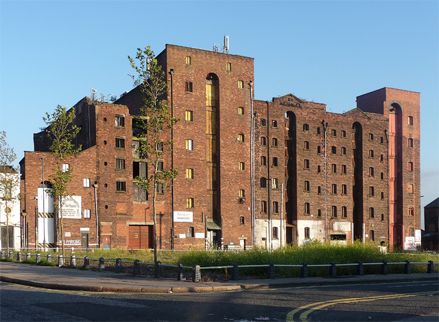 Metcalf's warehouse, Bridgewater Street, Liverpool