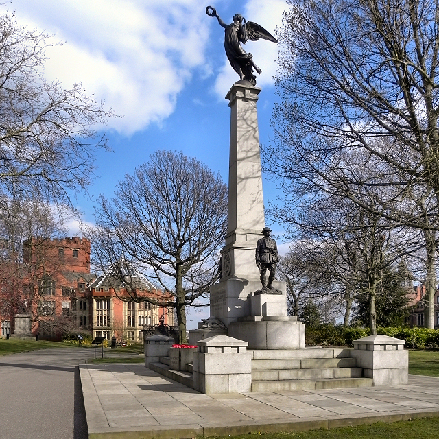 The War Memorial in Weston Park