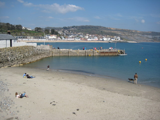 Beach by the Cobb, Lyme Regis