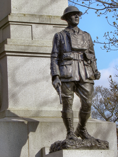 Soldier Sculpture, Weston Park War Memorial