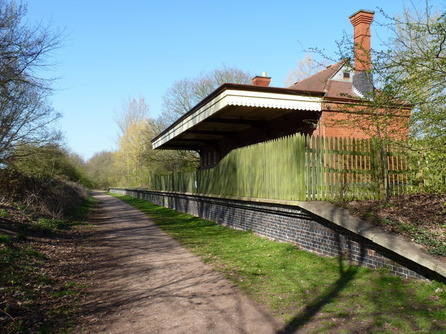 The former Wombourne (Bratch) Station