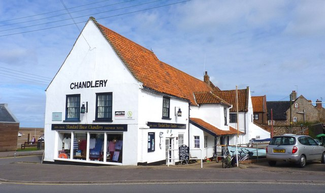 Chandlery at Wells Next The Sea