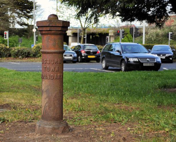 Boundary post, Lisburn (2)