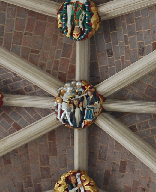 Becket Boss, Exeter Cathedral