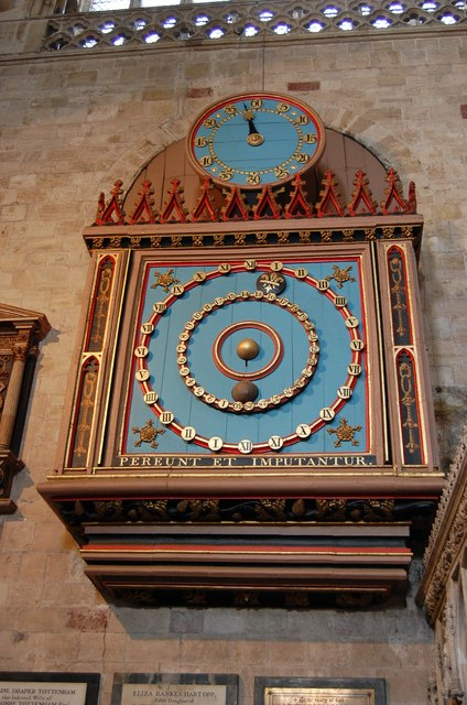 Astronomical Clock, Exeter Cathedral