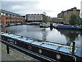 SK3687 : Canal Basin by Anne Burgess