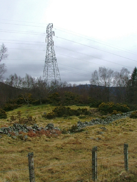 Small Hill with a Pylon