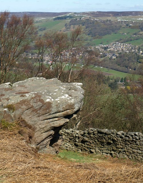 Rock above Pateley Bridge