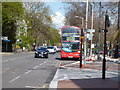 TQ3161 : Route 412 bus at Purley by Dr Neil Clifton