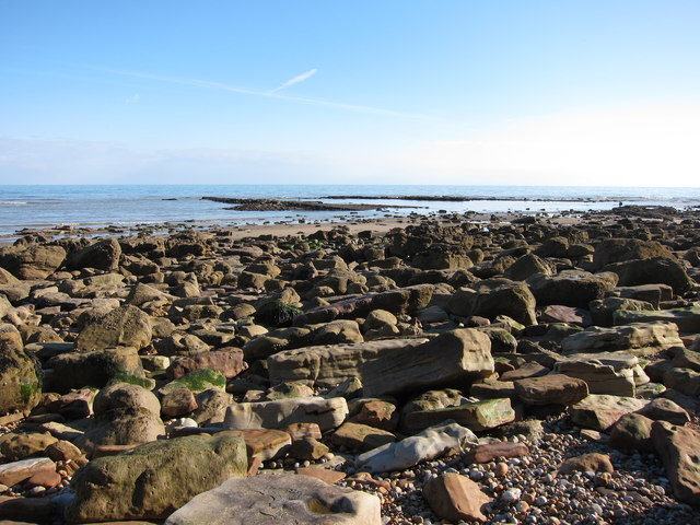 Rocky beach near Hastings Old Town