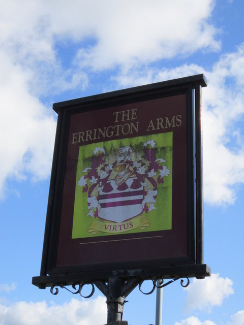 The Errington Arms on the A68