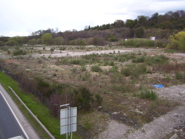 Chesterfield Waterside proposed development site