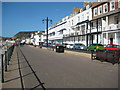 SY1287 : Seafront at Sidmouth by Philip Halling