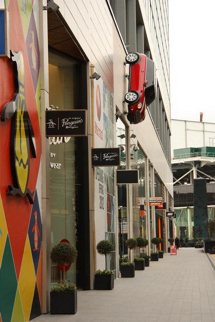 Westfield shops
