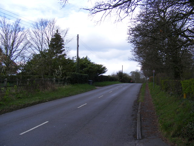 B1121 Church Hill, Sternfield