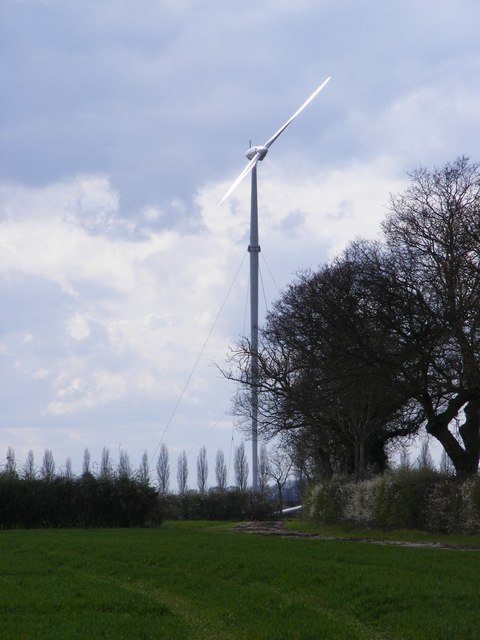 Sibton Green Wind Turbine