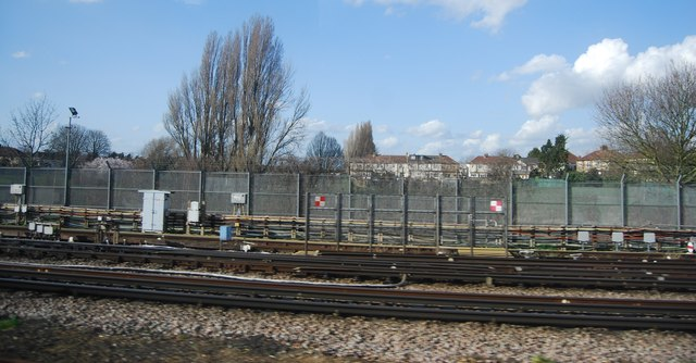 District line near Dagenham East