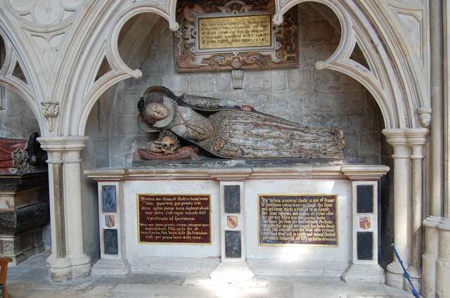 Lady Dodderidge Tomb, Exeter Cathedral