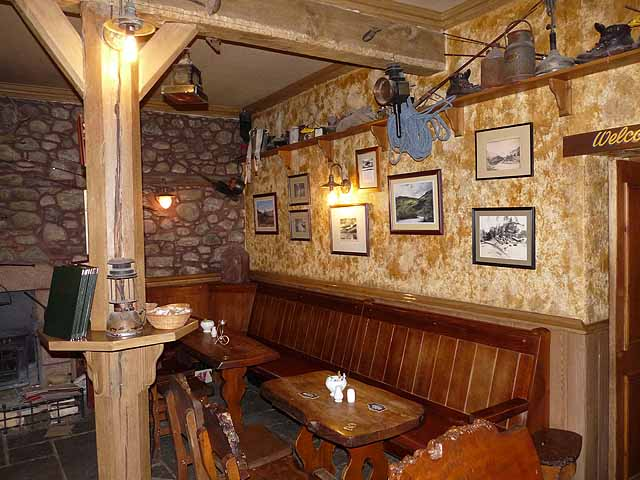 Inside the Climber's Bar, Glen Clova Hotel