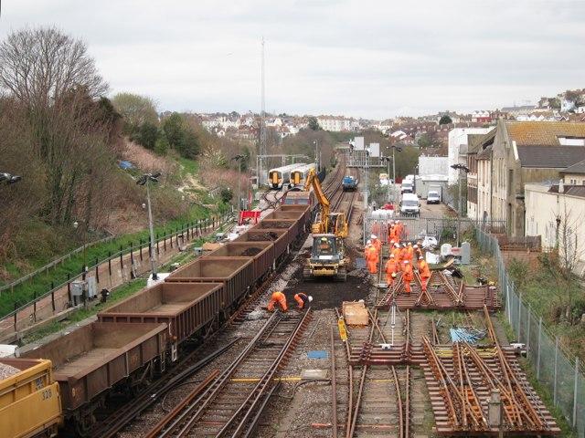 Railway repairs