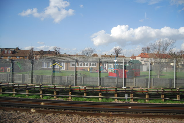 Railside buildings