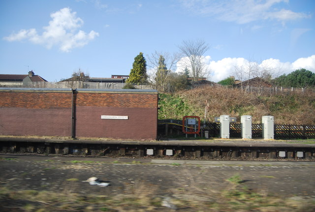 Trackside building, Hornchurch