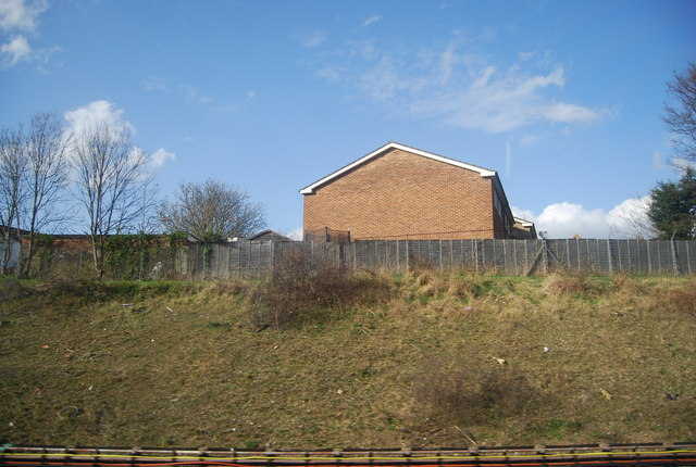 House above a cutting, Hornchurch