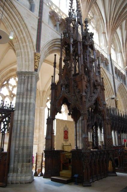 Bishop S Throne Exeter Cathedral 169 Julian P Guffogg