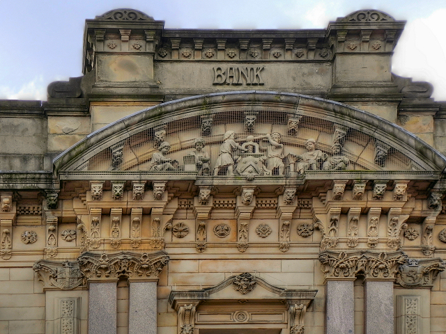 Barclays Bank (detail)