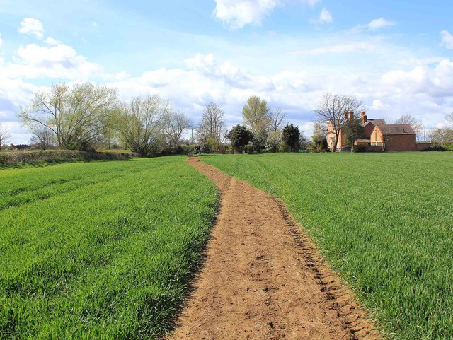 Bridleway to Lower Quinton