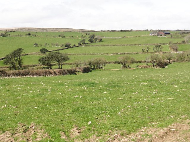 Pasture Fields near Bloody Pool