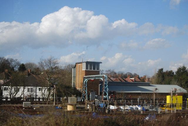 District Line sidings, Upminster