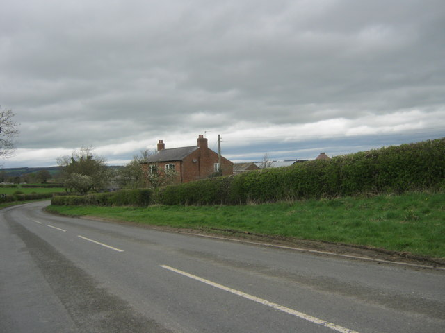 Farmhouse at Station Farm near Winston